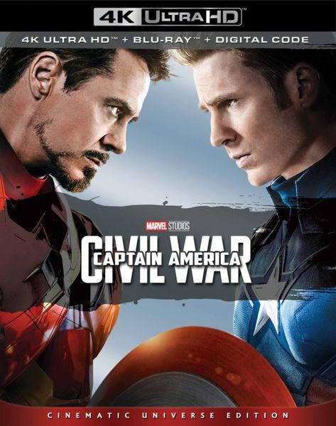 Captain America: Civil War 4K UHD Code