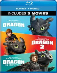 How To Train Your Dragon: 3-Movie Collection Digital HD Code