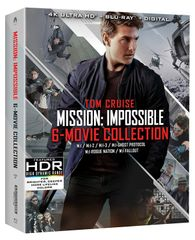 Mission: Impossible - 6 Movie Collection Digital 4K UHD Code
