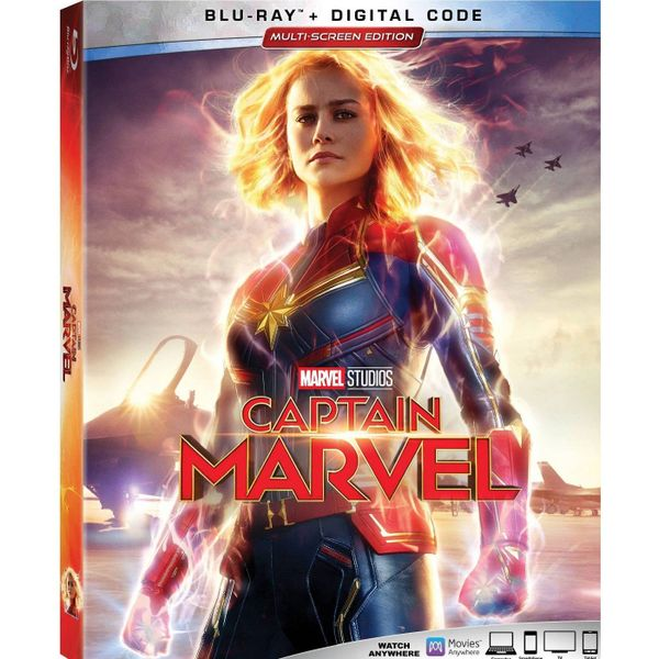 Captain Marvel Digital HD Code (Movies Anywhere)