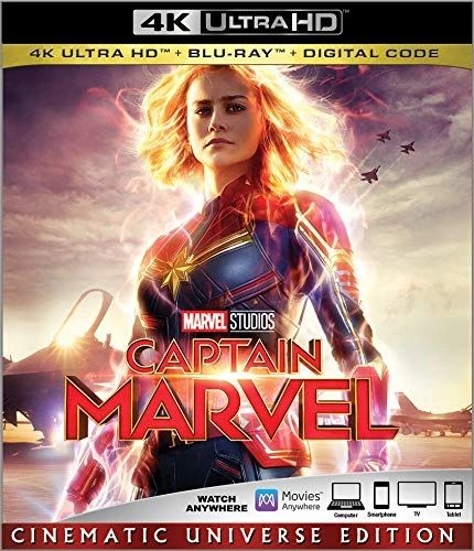 Captain Marvel 4K UHD Code