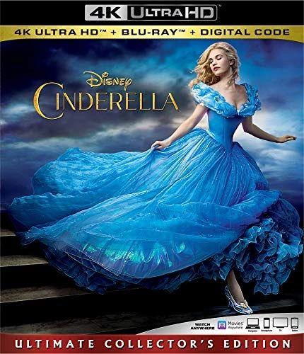 Cinderella Live Action 4K UHD Code