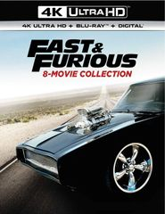 Fast & Furious 8-Movie Collection 4K UHD Code