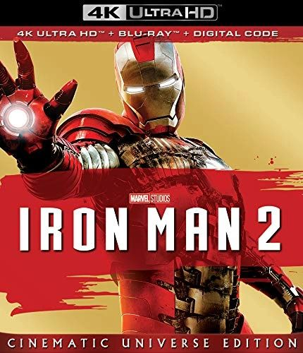Iron Man 2 4K UHD Code (Movies Anywhere)