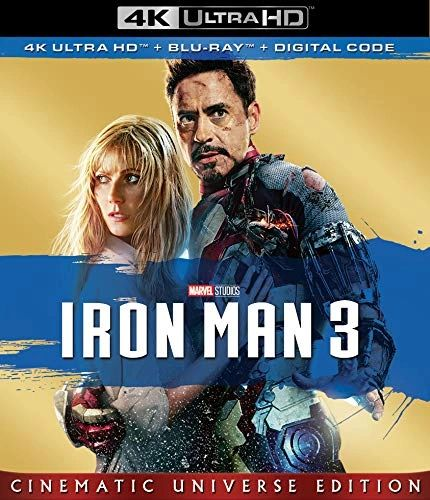 Iron Man 3 4K UHD Code (Movies Anywhere)