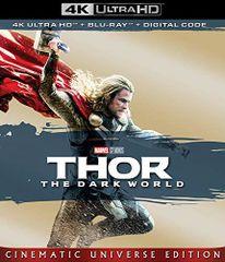 Thor: The Dark World 4K UHD Code (Movies Anywhere)