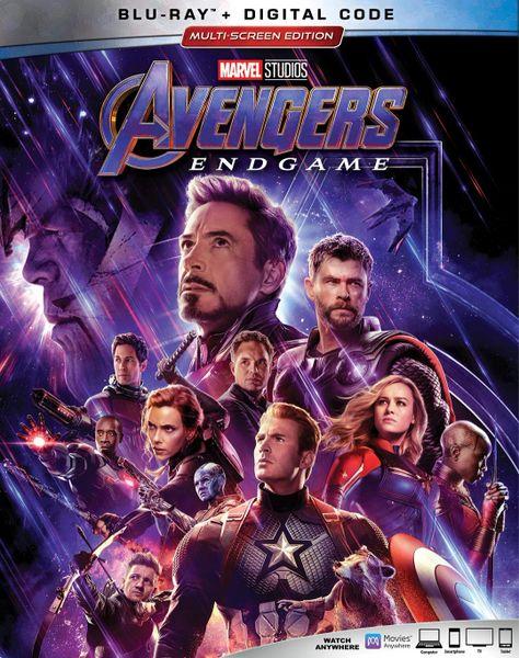 Avengers: Endgame Digital HD Code (Movies Anywhere)