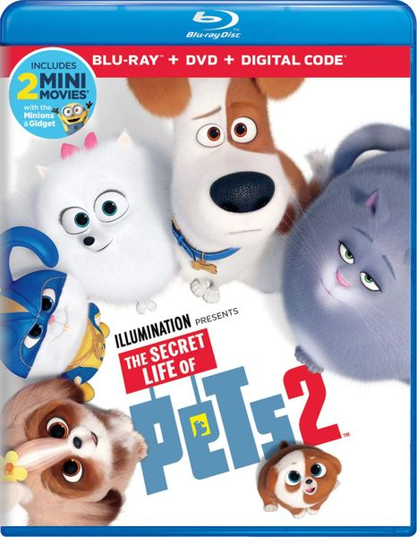 The Secret Life of Pets 2 Digital HD Code (Movies Anywhere)