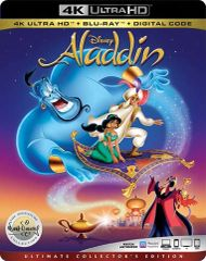 Aladdin Signature Collection 4K UHD Code (Movies Anywhere)