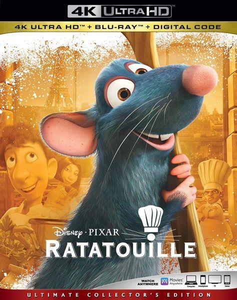 Ratatouille 4K UHD Code (Movies Anywhere)