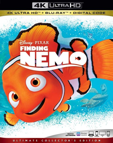 Finding Nemo 4K UHD Code (Movies Anywhere)