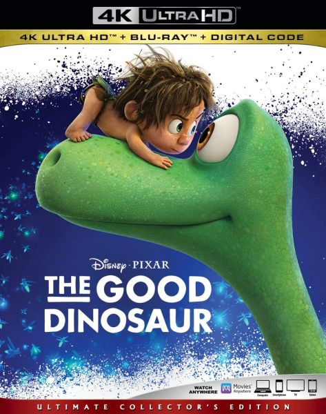 The Good Dinosaur 4K UHD Code (Movies Anywhere)
