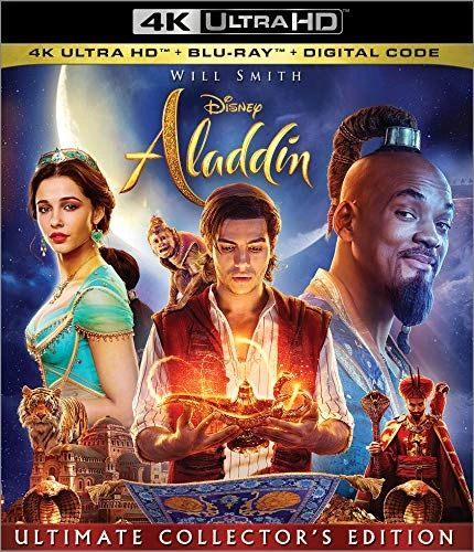 Aladdin Live Action 4K UHD Code (Movies Anywhere)