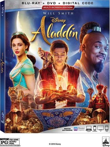 Aladdin Live Action Digital HD Code (Movies Anywhere)