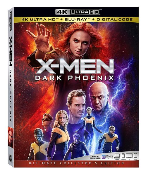 X-Men: Dark Phoenix 4K UHD Code (Movies Anywhere)
