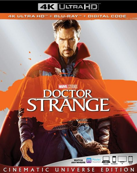 Doctor Strange 4K UHD Code (Movies Anywhere)
