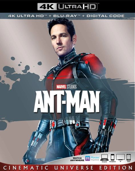 ANT-MAN 4K UHD Code (Movies Anywhere)