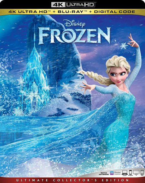 Frozen 4K UHD Code (Movies Anywhere)