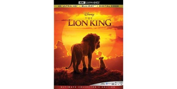 The Lion King Live Action 4K UHD Code (Movies Anywhere)