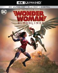 Wonder Woman: Bloodlines 4K UHD Code (Movies Anywhere), code will be sent out on 10/24