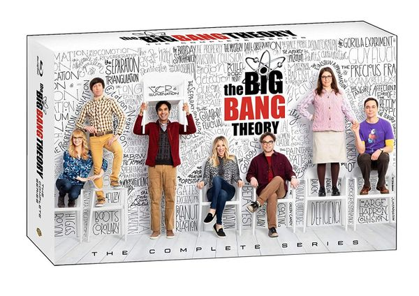 The Big Bang Theory: The Complete Series Digital HD Code - VUDU only