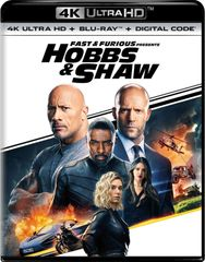 Fast & Furious Presents: Hobbs & Shaw 4K UHD Code (Movies Anywhere), code will be sent out on 11/7