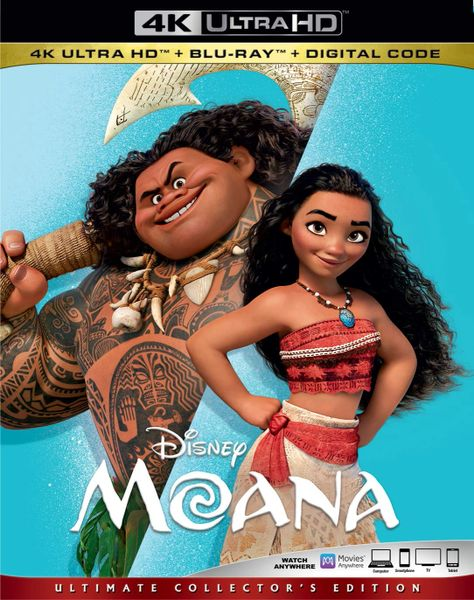 MOANA AKA: VAIANA 4K UHD Code (Movies Anywhere)