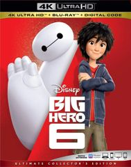 BIG HERO 6 4K UHD Code (Movies Anywhere), code will be sent out on 11/7