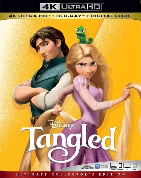 Tangled 4K UHD Code (Movies Anywhere)