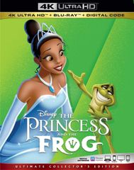 The PRINCESS AND THE FROG 4K UHD Code (Movies Anywhere), code will be sent out on 11/7