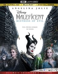 MALEFICENT: MISTRESS OF EVIL 4K UHD Code (Movies Anywhere)