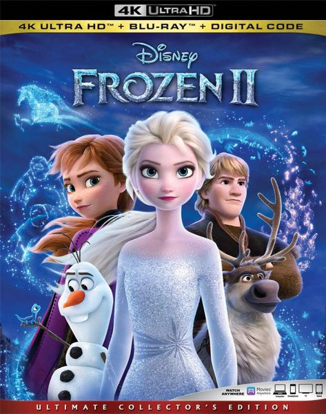 FROZEN 2 4K UHD Code (Movies Anywhere)