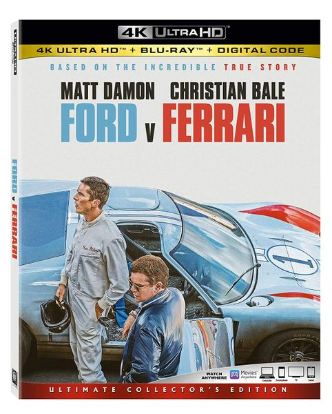 Ford v Ferrari 4K UHD Code (Movies Anywhere)