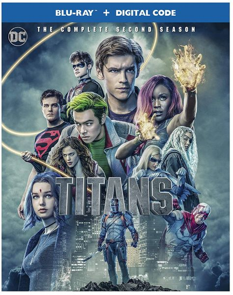 Titans: The Complete Season 2 Digital HD Code
