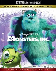 MONSTERS, INC 4K UHD Code (Movies Anywhere), code will be sent out on 3/5