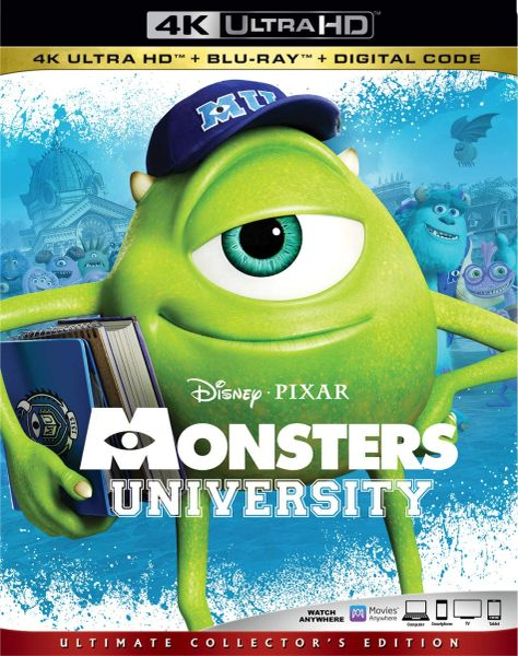 MONSTERS UNIVERSITY 4K UHD Code (Movies Anywhere)