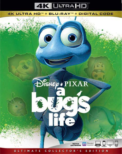 A BUG'S LIFE 4K UHD Code (Movies Anywhere)