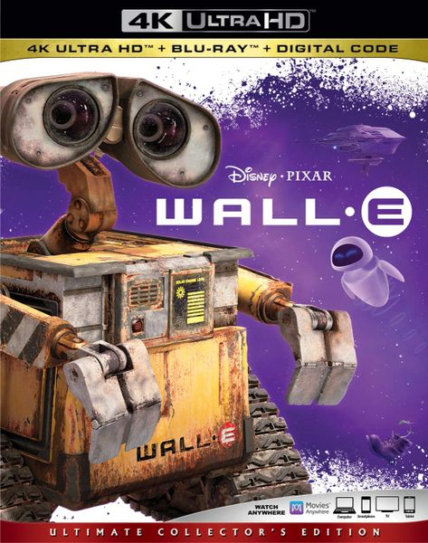 Wall-E 4K UHD Code (Movies Anywhere)
