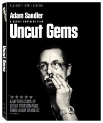 Uncut Gems Digital HD Code, code will be sent out on 3/12