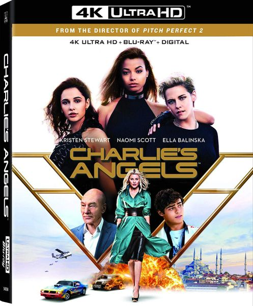 Charlie's Angels 4K UHD Code (Movies Anywhere)
