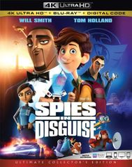 Spies in Disguise 4K UHD Code (Movies Anywhere), code will be sent out on 3/12