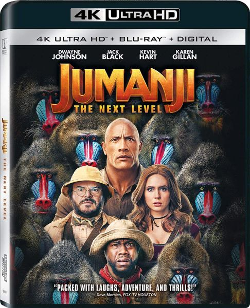 Jumanji: The Next Level 4K UHD Code (Movies Anywhere)