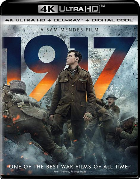 1917 4K UHD Code (Movies Anywhere), code will be sent out on 3/26