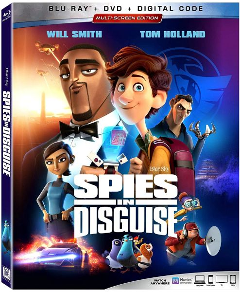 Spies in Disguise Digital HD Code (Movies Anywhere)