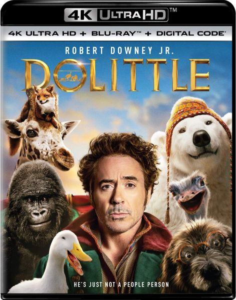 Dolittle 4K UHD Code (Movies Anywhere)