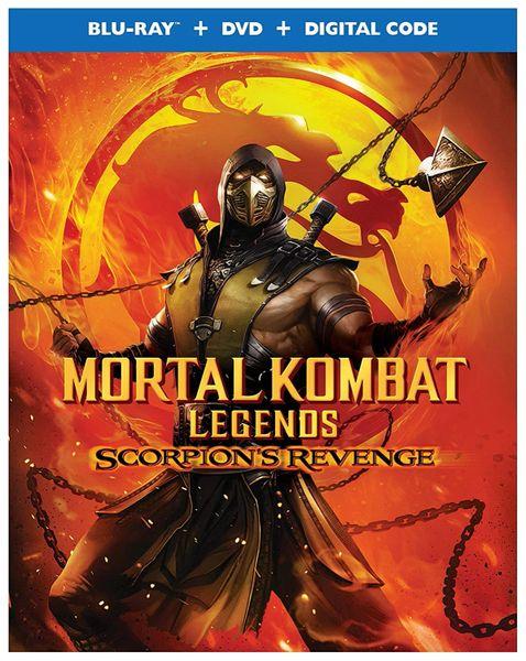 Mortal Kombat Legends: Scorpion's Revenge Digital HD Code (Movies Anywhere)