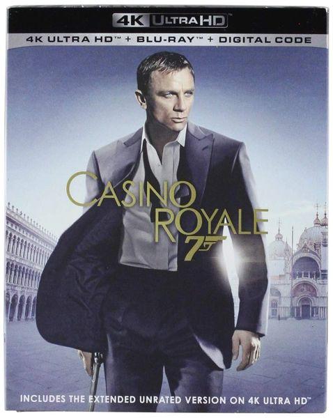 Casino Royale 4K UHD code