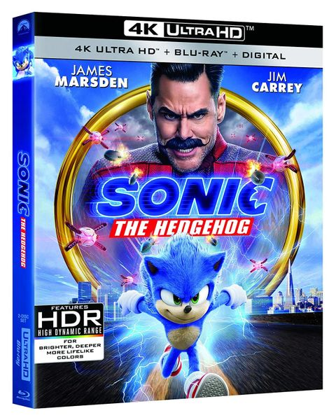 Sonic the Hedgehog 4K UHD code - iTune and VUDU