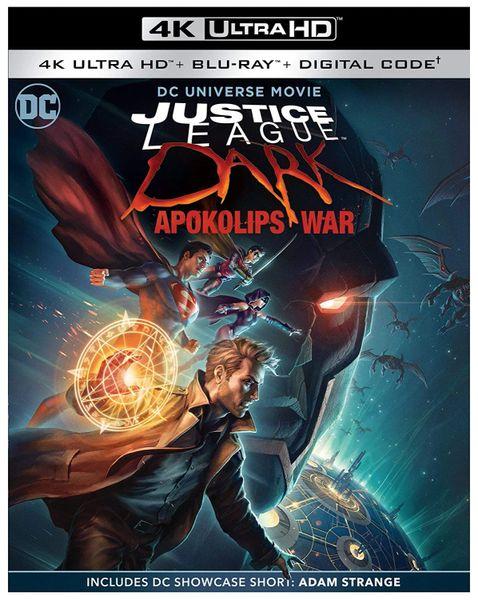 Justice League Dark: Apokolips War 4K UHD Code (Movies Anywhere)