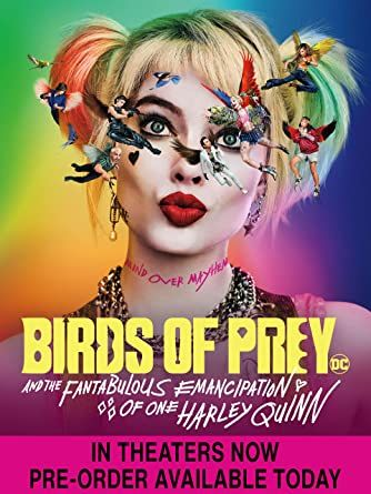 Birds of Prey Digital HD Code (Movies Anywhere)